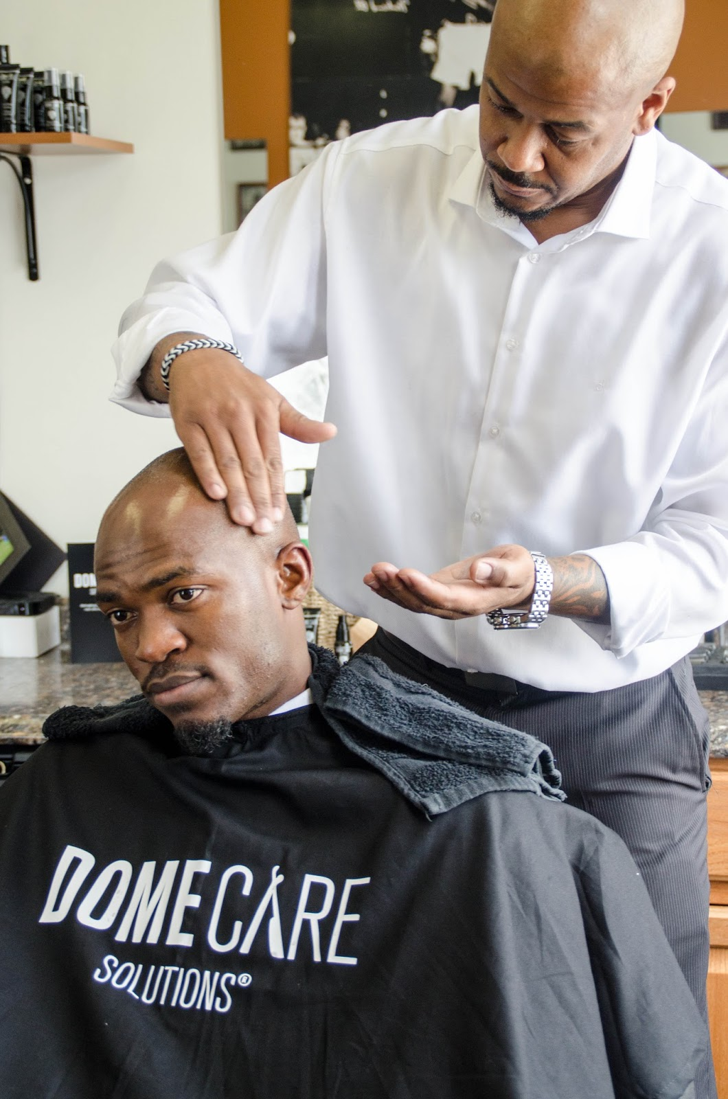 Appointments Are Recommended And Can Be Made At Topnotchbarberor  4159946699 If You Rock A Shaved Head Ask For The Domecare Solutions  Signature