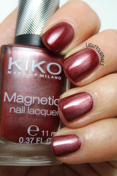 Kiko Magnetic 702 #kiko #kikocosmetics #magneticnails #nails #smalto #lightyournails