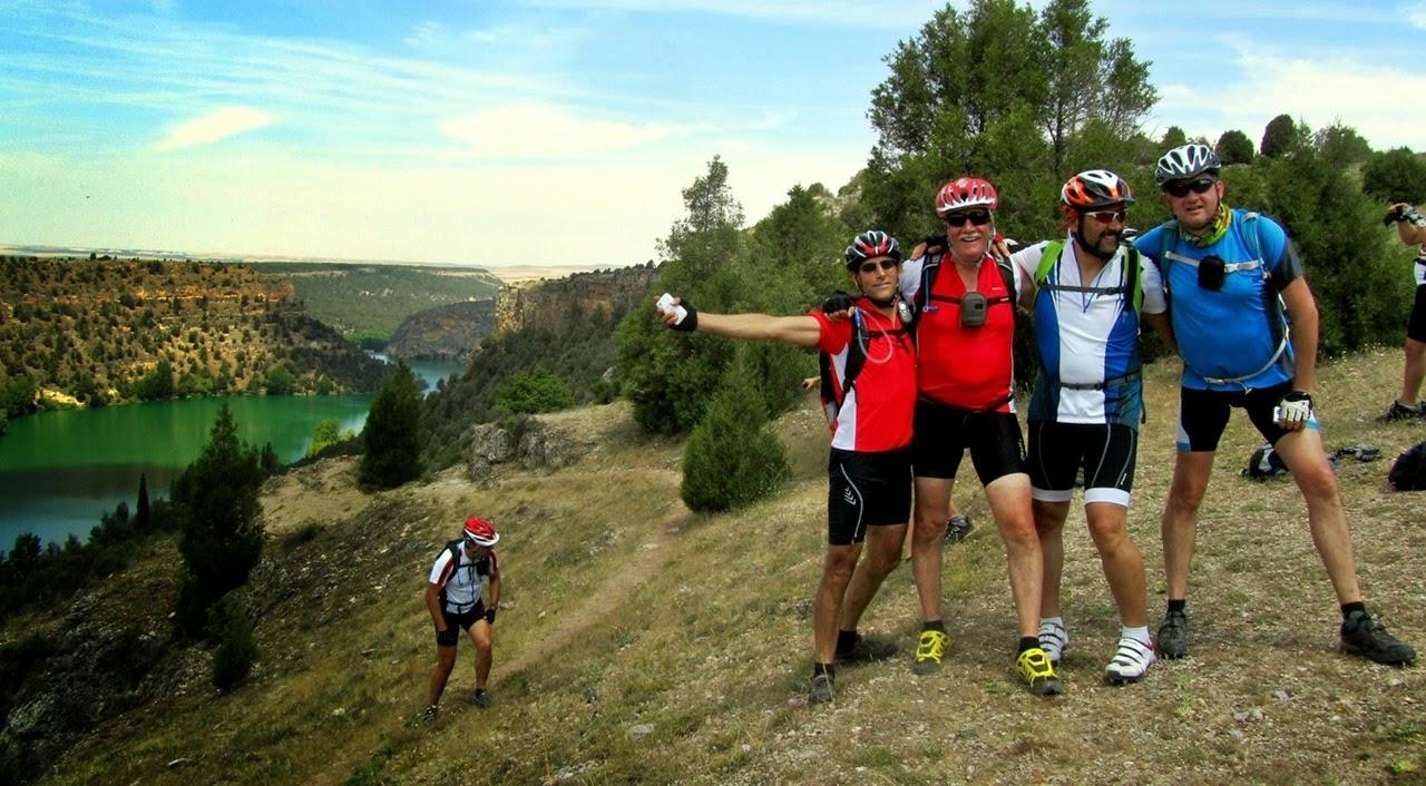 MTB en las Hoces del Río Duratón - Alfonsoyamigos