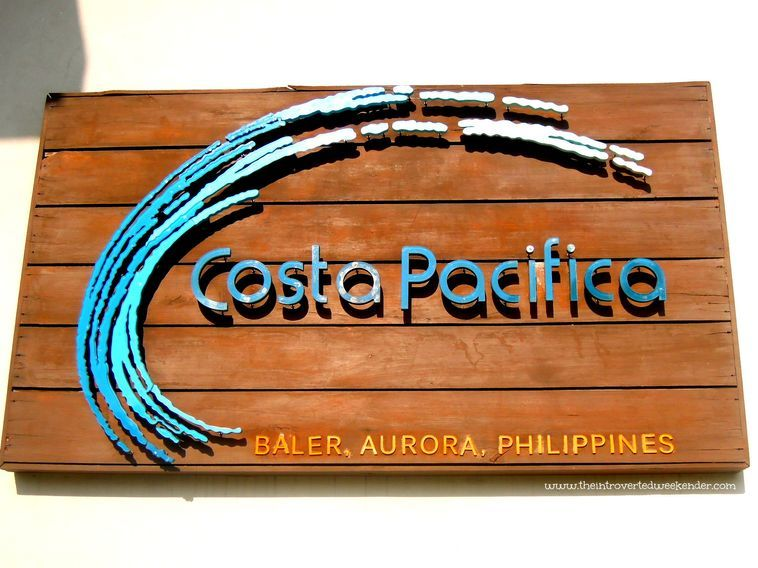 Marker of Costa Pacifica Baler