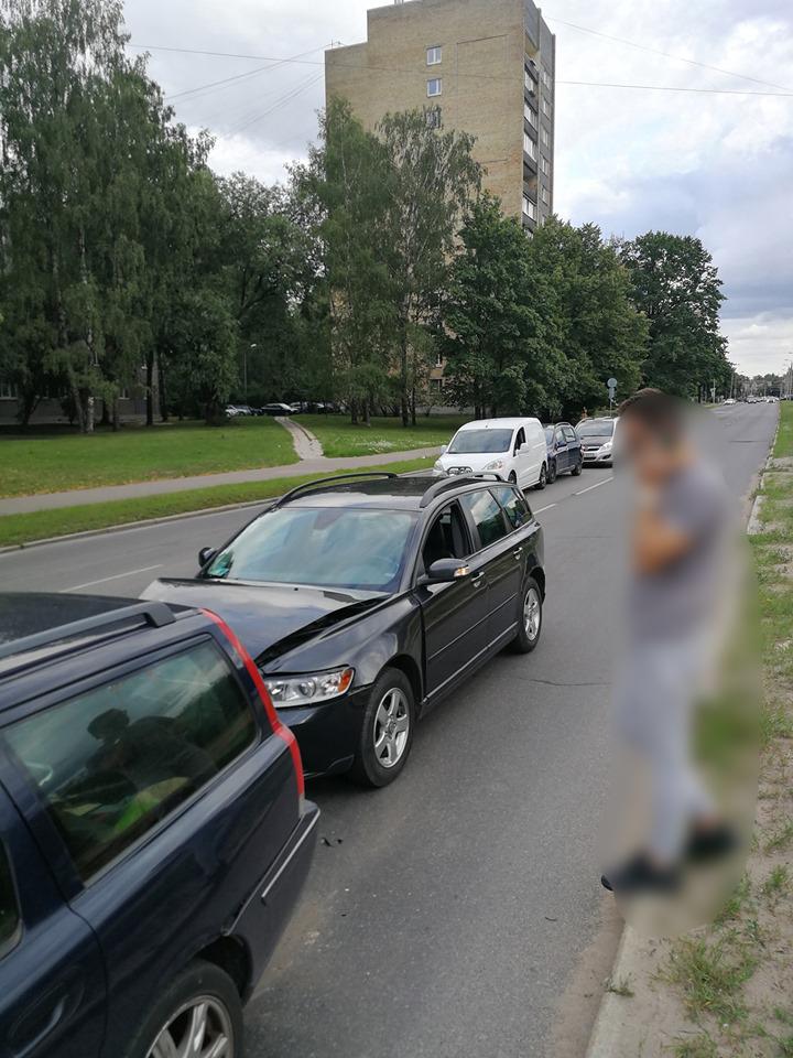 Piecu auto avārija Ķengaragā