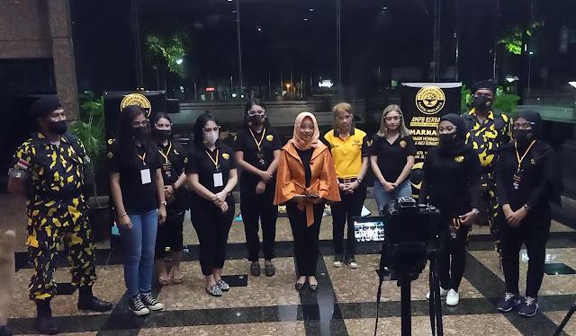 Angkatan Muda Partai Berkarya Ajak para anggota DPP dan Bidang Kemahasiswan untuk #gemarnabung