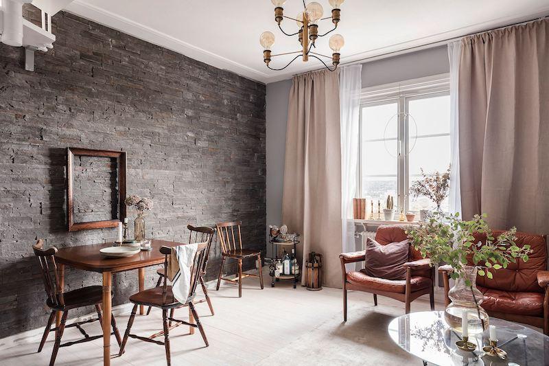 Salón de estilo clásico