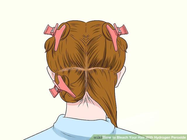 evde saç açma işlemi