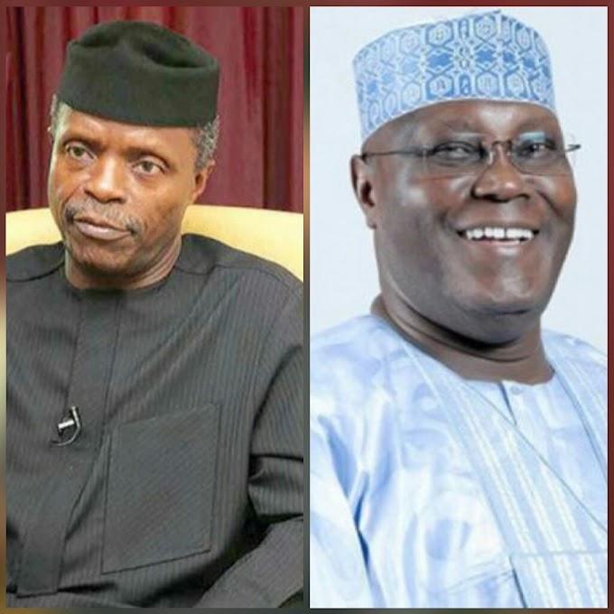 BE SINCERE! Osinbajo vs Atiku – Who Do You Think Is A Better Vice President?