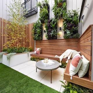 hiasan dinding rumah dan taman