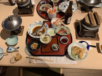 第一滝本館の夕食