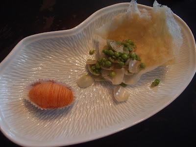 米网甜豆仁配萝卜酥