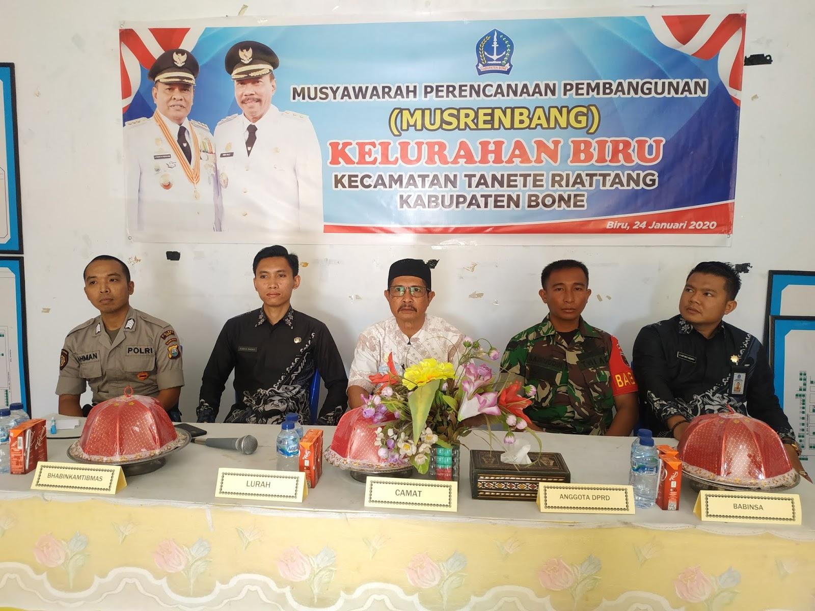 Masyarakat Kelurahan Biru Harap Anggota DPRD Bone Kawal Usulannya