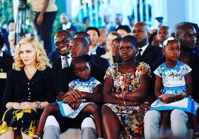 Madonna Opens World-Class Hospital for Children in Malawi - celebrity news