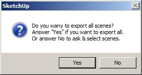 Cara Export file sketchup ke format gambar JPG