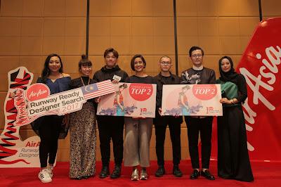 AIRASIA RUNAWAY READY DESIGNER SEARCH 2017 ANNOUNCES THE TOP 2 FINALIST REPRESENTING MALAYSIA!