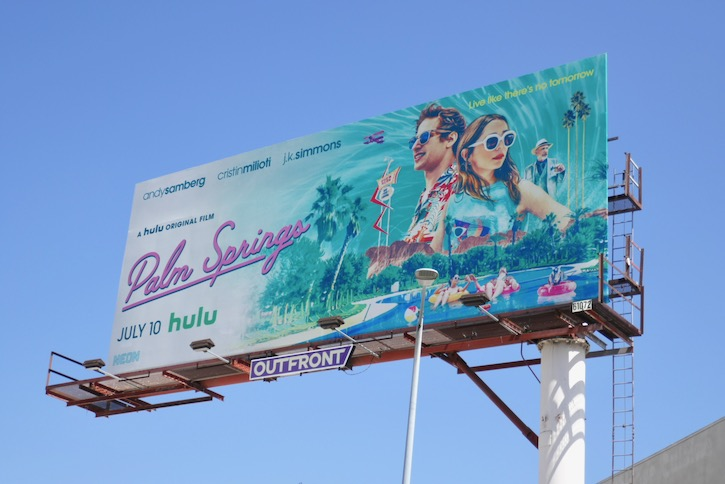 Palm Springs Hulu billboard