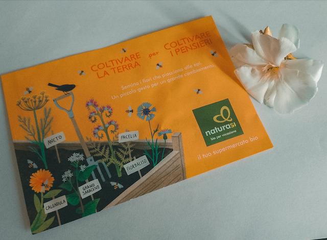Bustina di semi gratis di NaturaSì