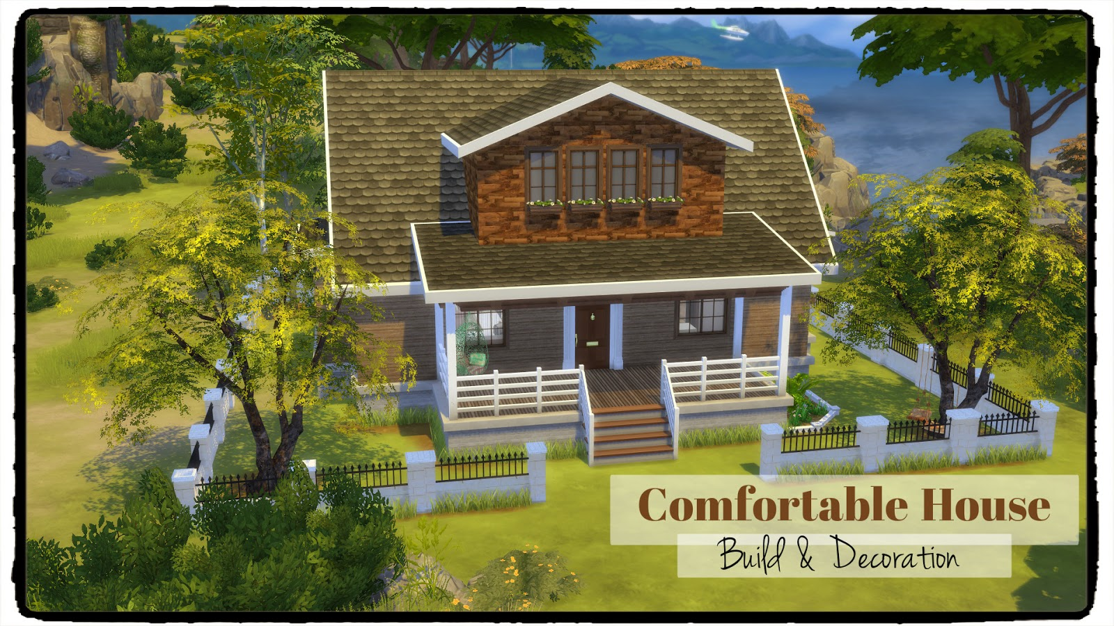 Sims 4 comfortable house dinha for B house