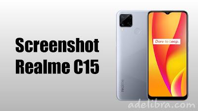 How to take Screenshot Realme C15
