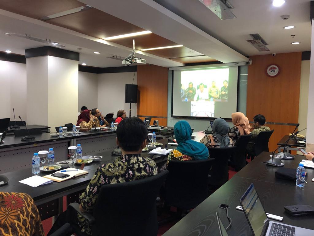 Sekjen KemenkumHAM Pimpin Rapat Kelulusan CPNS Sulawesi Tengah Melalui Teleconference
