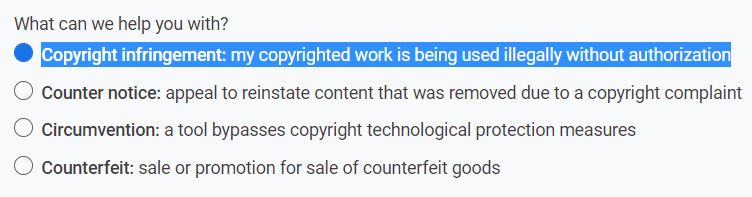 Copyright infringement: my copyrighted work is being used illegally without authorization