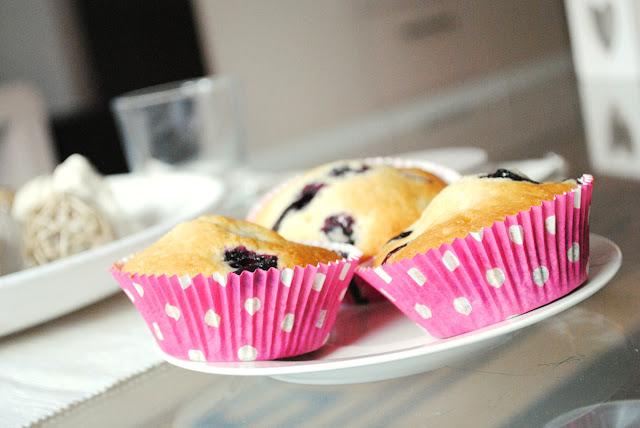 Słodki piątek czyli muffinki z borówkami amerykańskimi