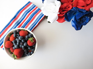 Image: Red, White, and Blue - Blue Berries and Strawberries, by Miesha Moriniere on Pixabay
