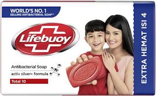 sabun batang lifebuoy