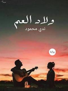 رواية ولاد العم - كاملة بقلم ندى محمود