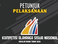 Petunjuk Pelaksanaan Kompetisi Olahraga Siswa Nasional Sekolah Dasar 2020