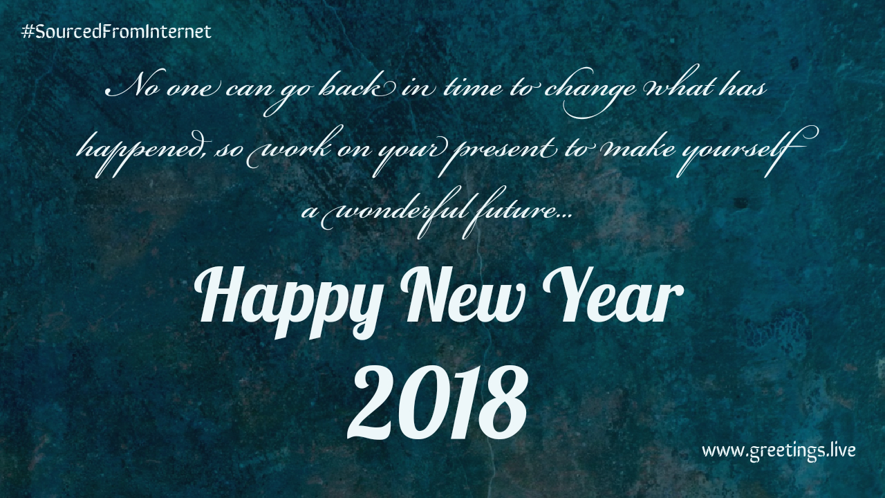 inspirational new year greetings