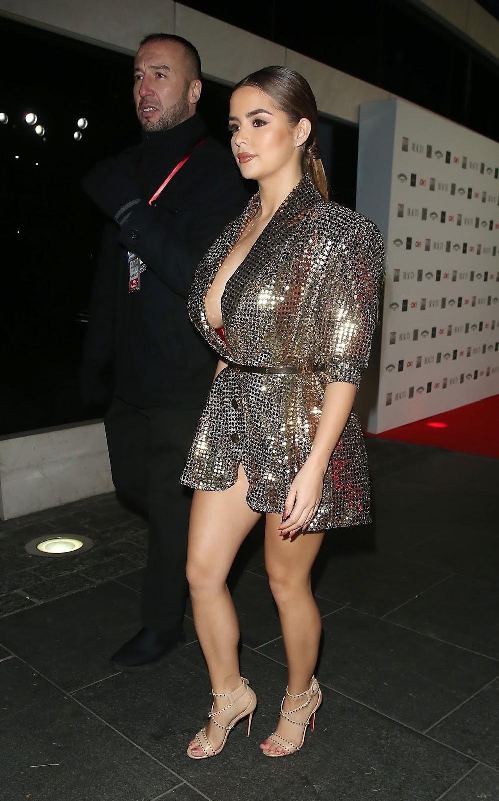Demi Rose - The Beauty Awards, London, UK 11/26/2018