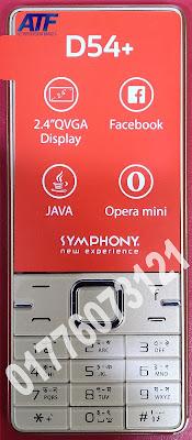 Symphony D54 Plus Flash File