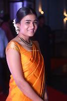 Shalini Pandey in Beautiful Orange Saree Sleeveless Blouse Choli ~  Exclusive Celebrities Galleries 031.JPG