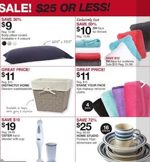 Home Outfitters Flyer 4 Days Only - Weekend Deals valid September 1- 4, 2017