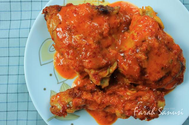 Resepi Ayam Percik Merah