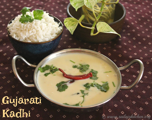images of Gujarati Kadhi Recipe / Kadhi Recipe