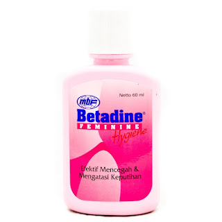Betadine Feminine Hygiene, Mencegah dan Mengatasi Keputihan