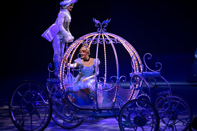 Disney on Ice presents Dream Big review - Cinderella's coach