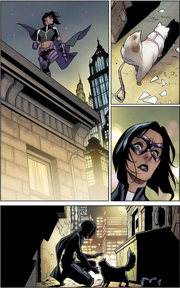 Detective Comics #1035 - Huntress 1