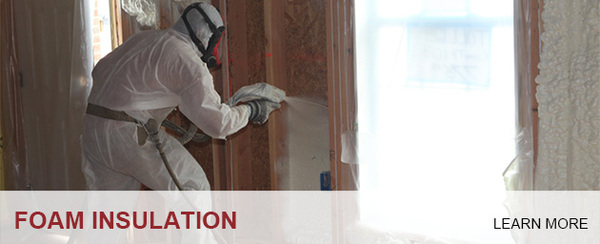 Insulation Installer applying Spray Foam Insulation; Foam Insealators of Maryland and Virginia