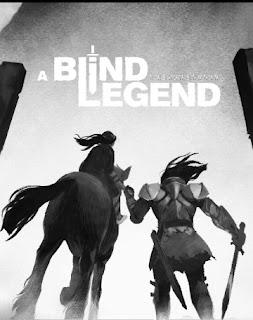 Graphik: ஒரு குதிரை அதை ஒரு வீரர் பிடித்துக் கொண்டிருக்கிறார் மற்றும் a blind legend. என்று ஆங்கிலத்தில் எழுதப்பட்டுள்ளது.
