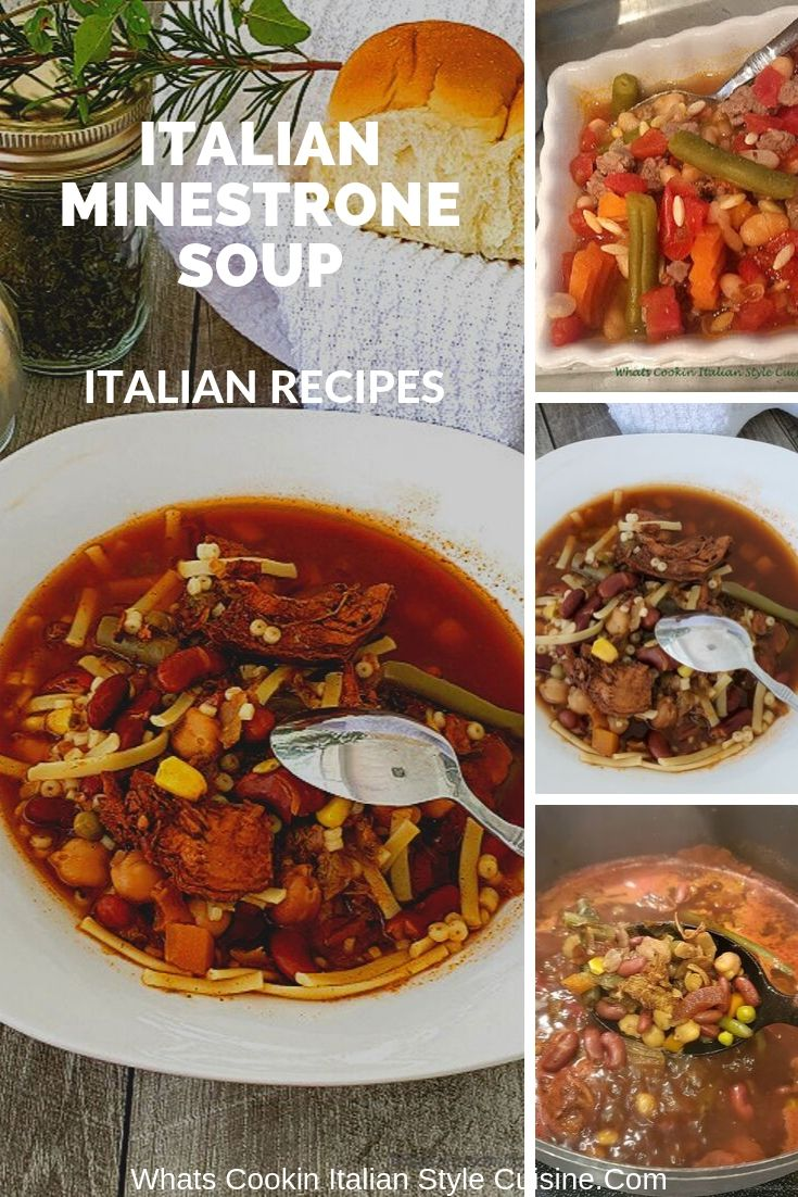 this is a pin for minestrone soup