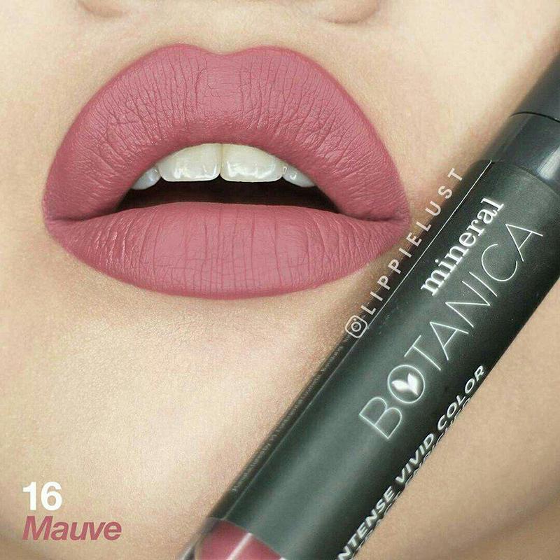 merek keren Mineral Botanica Soft Matte Lip Cream