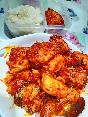Resepi Ayam Sambal Yang Sedap Dan Lembut Sesuai Makan Dengan Nasi Ayam
