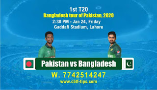 Today PAK vs BAN Fantasy 11 sure Team reports