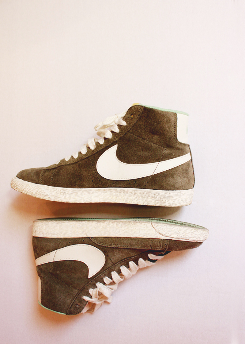 nike shoes, high tops, spring shoe trends