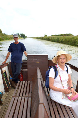 River boat trips on the River Ancholme in Brigg have restarted in 2016 - picture one on Nigel Fisher's Brigg Blog, image taken by Ken Harrison