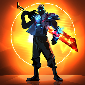 Download MOD APK Cyber Fighters: League of Cyberpunk Stickman 2077 Latest Version