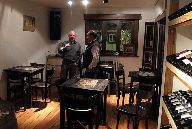 Bar de vinhos La Bodega em Bariloche