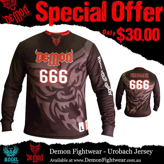 MMA Jersey and MMA Clothing Special Offer