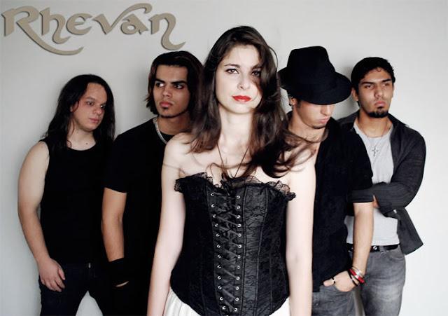 banda de gothic metal rhevan