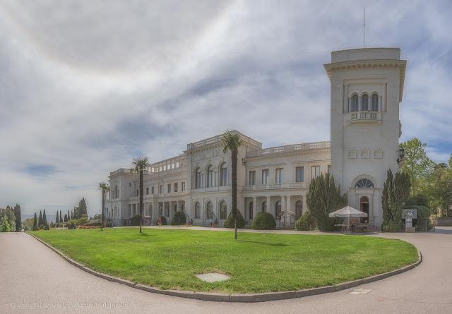 Ливадийский дворец. панорама